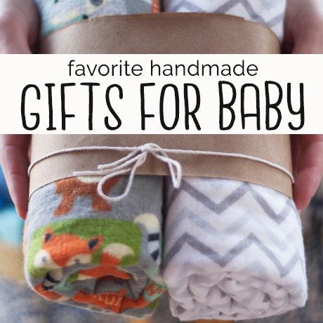 favorite handmade baby shower gifts diy
