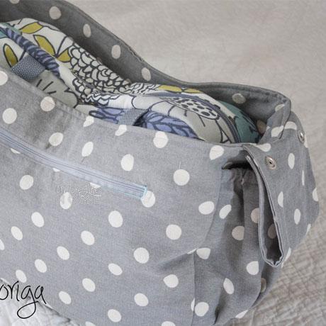 stroller tote diaper bag tutorial free pattern