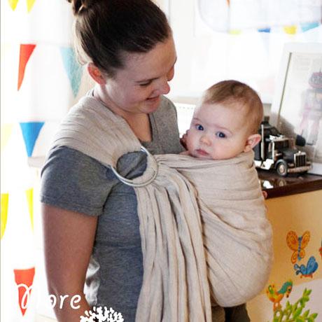 diy babywearing ring sling free pattern tutorial