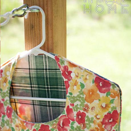 diy clothespin bag clothesline tutorial hanger