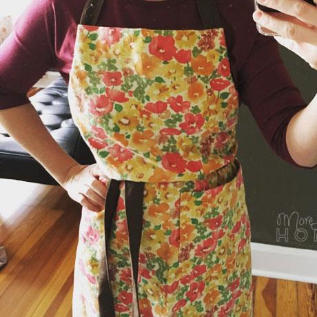 diy adjustable apron tutorial pattern