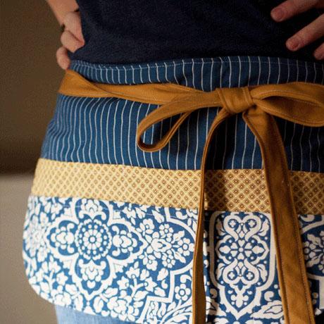 diy craft show gardening apron tutorial