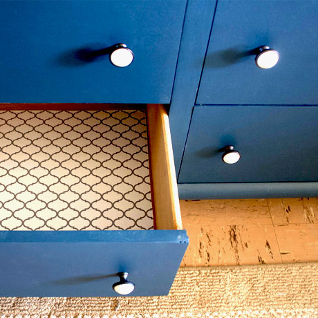 how to paint a dresser blue diy tutorial