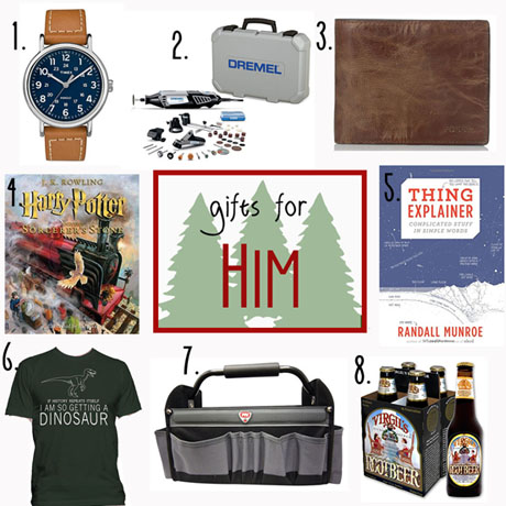 gift guide gifts stocking stuffers for him guys