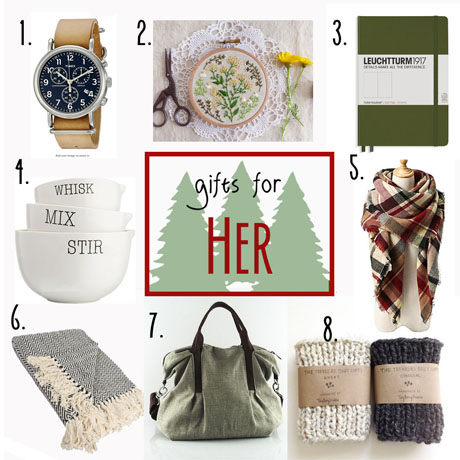 gift guide gifts stocking stuffers for her women