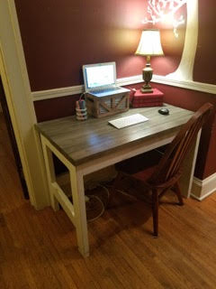 Fabulous More Like Home Day 2 Build A Casual Desk With 2X4S Download Free Architecture Designs Rallybritishbridgeorg