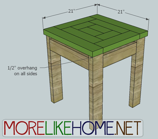 Terrific More Like Home Day 22 Build A Craftsman Style End Table Beutiful Home Inspiration Xortanetmahrainfo