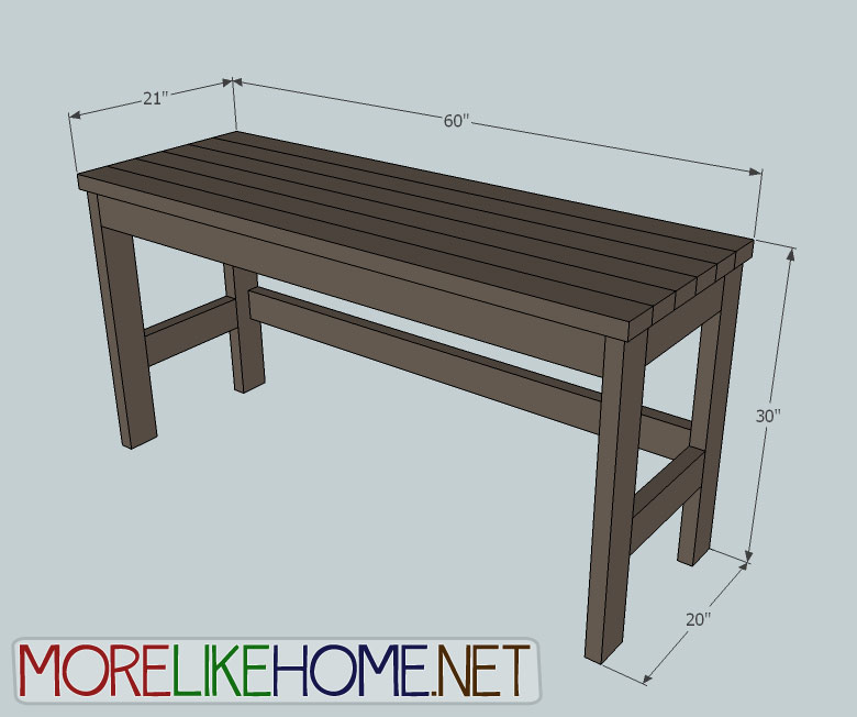 Pleasing More Like Home Day 2 Build A Casual Desk With 2X4S Download Free Architecture Designs Rallybritishbridgeorg
