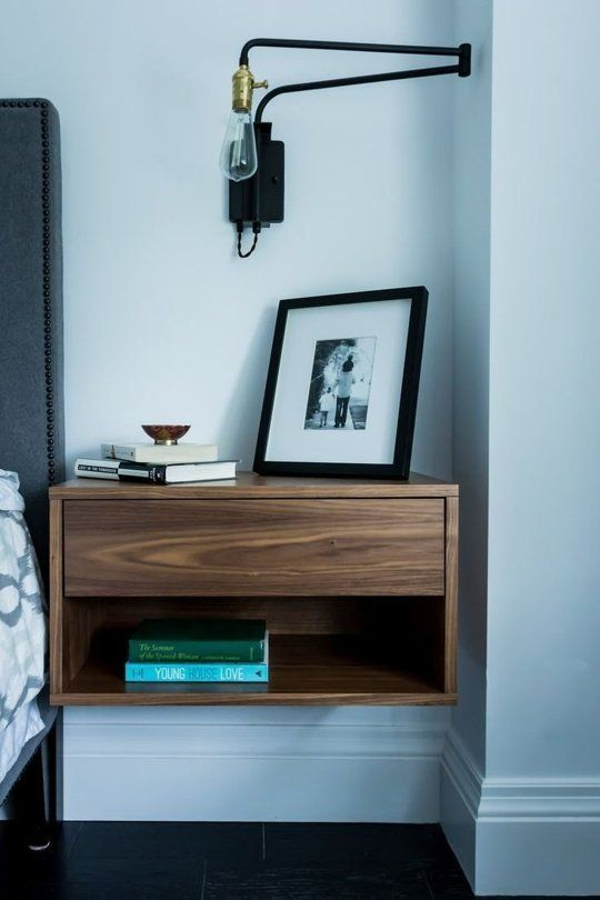 More Like Home Nightstands Day 9 Floating Nightstand With