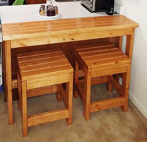 Brilliant More Like Home Day 2 Build A Casual Desk With 2X4S Download Free Architecture Designs Rallybritishbridgeorg