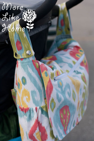8e6747ed7ea0 I finished my bag a couple months ago and it has become my full-time diaper  bag. I ve been putting it through the ringer and have been really happy with  how ...