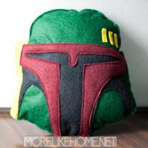 Boba Fett Plushie Pillow
