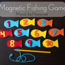 Magnetic Fishing Game Busy Bag