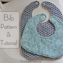 Bib Pattern and Tutorial
