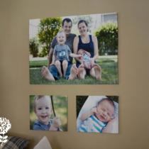 Faux Photo Canvas