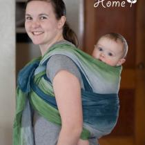 Dyed Wrap {Baby-Wearing}