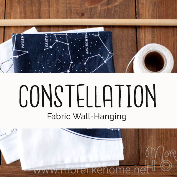 constellation wall hanging