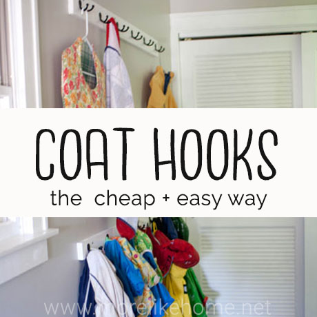 coat rack diy