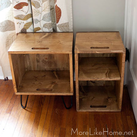 diy easy crate nightstand plans