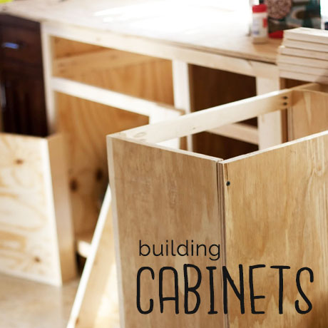 diy how to build base cabinets