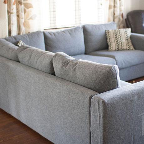 living room makeover reveal vimle