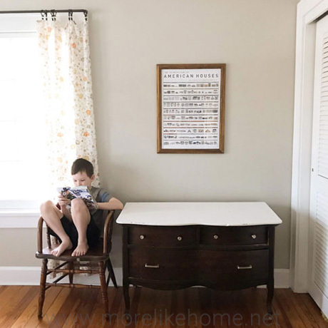 guest room low budget makeover reveal spending freeze
