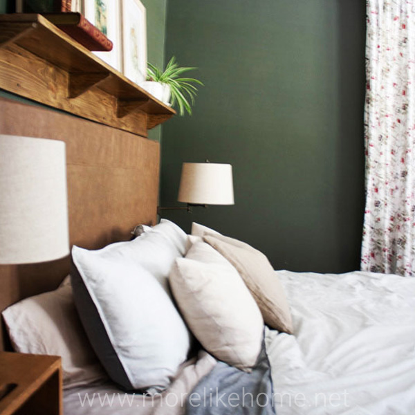 low budget makeover master bedroom reveal