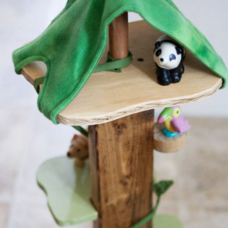 wooden animal treehouse diy plans animalz
