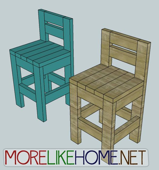 Awesome More Like Home Day 23 Build A Chunky Bar Stool Forskolin Free Trial Chair Design Images Forskolin Free Trialorg