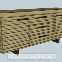 Palm Sideboard