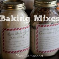 Baking Mix Gift Jars