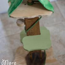 Wooden Animal Treehouse