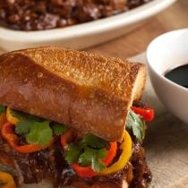 Balsamic BBQ Pulled Pork Sandwiches